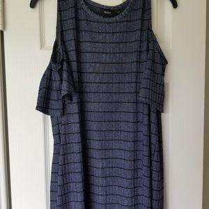 Apt 9 Open Shoulder Top/Dress
